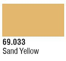 Vallejo 17ml Bottle Sand Yellow Mecha Color (6/Bx)