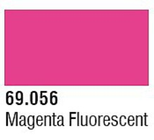 Vallejo 17ml Bottle Magenta Fluorescent Mecha Color (6/Bx)