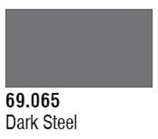 Vallejo (bulk of 6) Dark Steel 17ml 6p