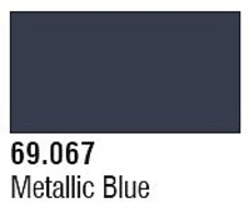 Vallejo (bulk of 6) Metalic Blue 17ml 6p