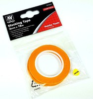 Vallejo Precision Masking Tape 3mm x 18m 2pk