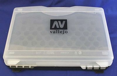 Vallejo Empty Plastic Storage Case Hobby and Model Paint Supply #70098