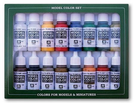 AV Vallejo Game Color Box Set 3 Brushes /& Case # 72172 72 Paints
