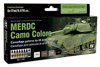 Vallejo MOD AIR MERDC CAMO COLORS