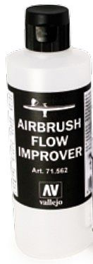 Vallejo 200ml Bottle Airbrush Flow Improver Hobby and Model Acrylic Paint #71562