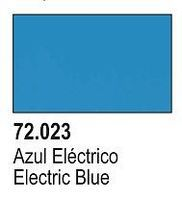 Vallejo (bulk of 6) ELECTRIC BLUE 17ml (6 Pack) Hobby and Model Acrylic Paint #72023