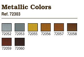 Vallejo Metallics Game Color Paint Set (8 Colors) Hobby and Model Paint Set #72303