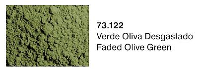 Vallejo Faded Olive Green Pigment Powder (30ml) Paint Pigment #73122
