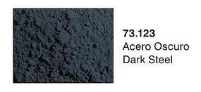 Vallejo Dark Steel Pigment Powder (30ml) Paint Pigment #73123