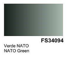 Vallejo NATO Green Surface Primer (200ml Bottle) Hobby and Model Acrylic Paint #74612