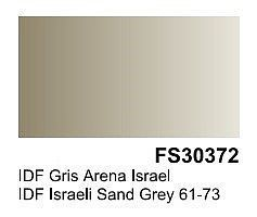 Vallejo IDF Israeli Sand Grey Surface Primer (200ml Bottle) Hobby and Model Acrylic Paint #74614