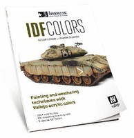 Vallejo Armorured Side IDF Colors Painting & Weathering Techniques w/Acrylics Book
