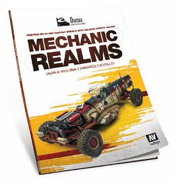 Vallejo Quasar Mechanic Realms Painting & Sci-Fi Models w/Acrylics Book
