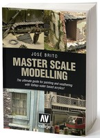 Vallejo Master Scale Modelling The Ultimate Guide to Painting & Weathering w/Vallejo Water Based Acrylics Book