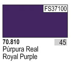 Vallejo 17ml Bottle Royal Purple Model Color (6/Bx)