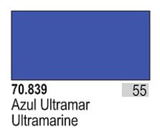 Vallejo (bulk of 6) 17ml Bottle Ultramarine Model Color (6/Bx)