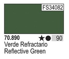 Vallejo 17ml Bottle Reflective Green Model Color (6/Bx)