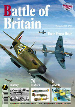 Valiant Wings Publishing Airframe Extra- Battle of Britain - Their Finest Hour -- Authentic Scale Model Airplane Book -- #ae3