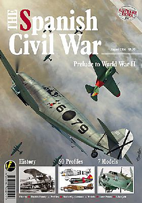 Valiant Wings Publishing Airframe Extra 5 The Spanish Civil War Prelude WWII -- Authentic Scale Model Airplane Book -- #ae5
