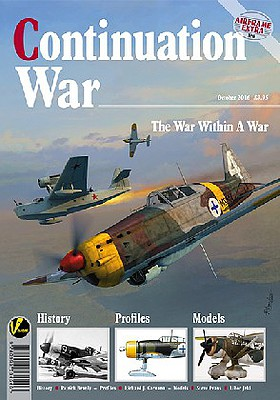 Valiant Wings Publishing Airframe Extra 6- Continuation War Finland & Russia -- Authentic Scale Model Airplane Book -- #ae6