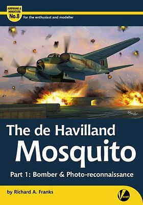 Valiant Wings Publishing The DeHavilland Mosquito Part 1 Bomber & Photo Recon -- Authentic Scale Model Airplane Book -- #am8