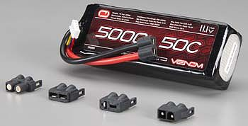 lipo 3s 11 1v 5000mah 50c univ plug system vnr15059. Black Bedroom Furniture Sets. Home Design Ideas