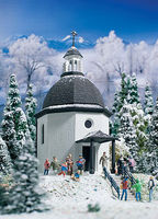 Vollmer Silent Night Memorial Chapel Kit HO Scale Model Railroad Building #42412