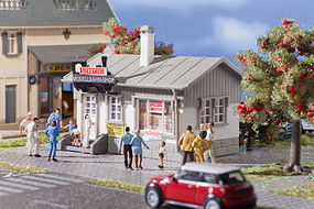 Vollmer Model Railway Shop Kit HO Scale Model Railroad Building #42418