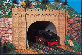 Vollmer Double Track Tunnel Portal Moseltal Kit HO Scale Model Railroad Miscellaneous Scenery #42506