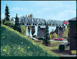 Vollmer Truss Bridge HO Scale Model Railroad Bridge #42545