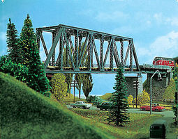 Vollmer Box Girder Bridge For Marklin 1-5/8 4cm HO Scale Model Railroad Bridge #42546