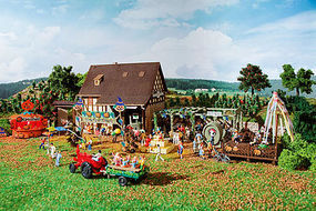Vollmer Autumn Festival Kit HO Scale Model Railroad Building #43009