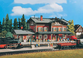 Vollmer Waldbronn Station Kit HO Scale Model Railroad Building #43505