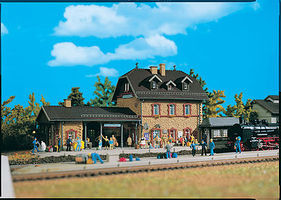 Vollmer Country Station Kit HO Scale Model Railroad Building #43520