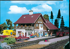 Vollmer Station Reith Kit HO Scale Model Railroad Building #43530
