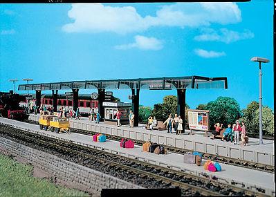 FALLER Modern Station Platform Model Kit V HO Gauge 120202