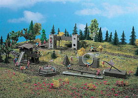 Vollmer Adventure Playground HO Scale Model Railroad Building Accessory #43668