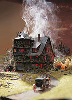Vollmer Vampire Villa Kit HO Scale Model Railroad Building #43679