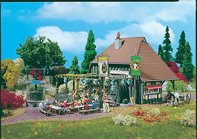Vollmer Winery Festival Kit HO Scale Model Railroad Building #43680