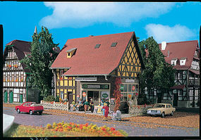Vollmer Emmas Grocery Shop Kit HO Scale Model Railroad Building #43688
