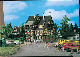 Vollmer Village Inn Rathskellar Kit HO Scale Model Railroad Building #43754