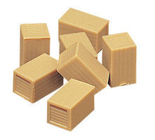 Vollmer Wooden Cases HO Scale Model Railroad Building Accessory #45242
