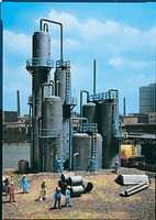 Vollmer Oil Refinery Kit HO Scale Model Railroad Building #45525
