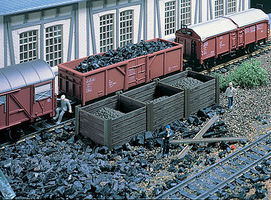 Vollmer Coal Bin Kit HO Scale Model Railroad Building #45717