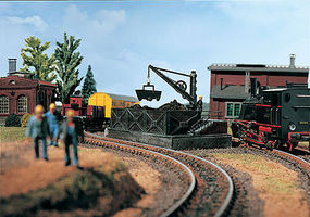Vollmer Coal Bunker Kit HO Scale Model Railroad Building #45719