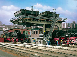 Vollmer Coaling Stage Kit HO Scale Model Railroad Building #45720