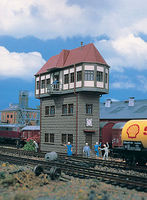 Vollmer Fellbach Signal Tower Kit HO Scale Model Railroad Building #45734