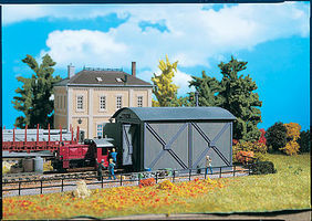 Vollmer KOF Engine Shed Kit HO Scale Model Railroad Building #45761
