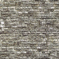 Vollmer Stone Wall Sheet (10) HO Scale Model Railroad Building Accessory #46035