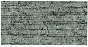Vollmer Stone Embossed Paper Sheet Porphyry Gray Brick HO Scale Model Railroad Scratch Supply #46052
